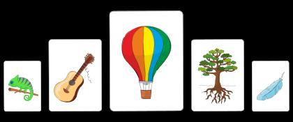 Symblify Life Coach App Weekdays Card Set