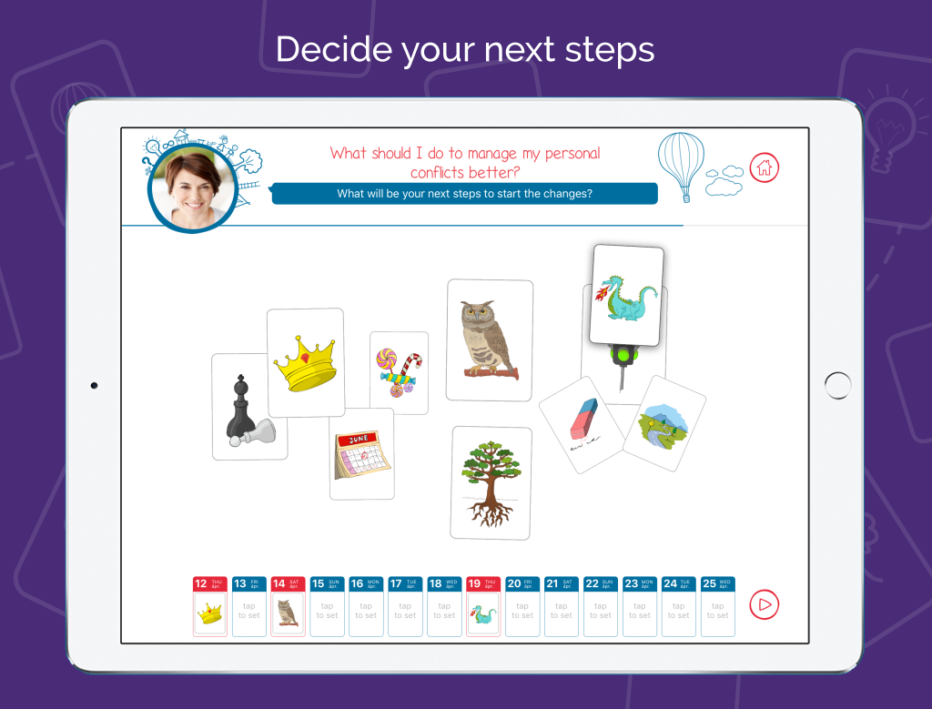 Life Coach App - Symblify - Decide Your Next Steps