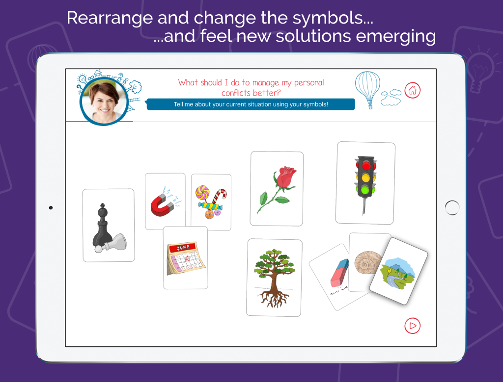 Life Coach App - Symblify - Rearrange And Change The Symbols